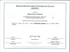 Minority Business Enterprise Certificate