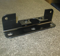 Fabricated HRPO Steel Side Extender Mount for the Medium/Heavy Duty Transportation Industry